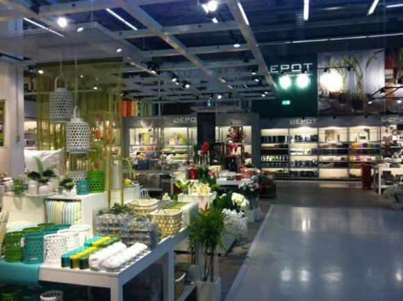 Depot Eröffnet Erste Shop In Shop Fläche In Einem Deutschen